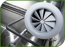 Обратный клапан для вентиляционной системы