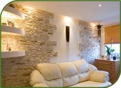 Перекрытия теплого дома с камином