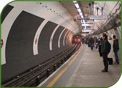 Реставрация перрона станции метро