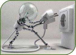 Светодиодные гирлянды в магазине новогодней светотехники