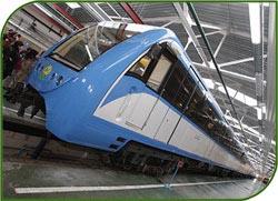 В Москве проведутся строительные и реконструкционные работы депо для поездов метро